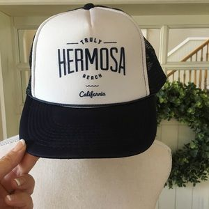 Hermosa Beach Nylon Baseball Cap